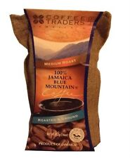 Coffee Traders 100% Jamaica Blue Mountain Coffee Roasted & Ground 16oz
