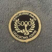 🔴 Aufnäher GEOCACHING Patch NEU - für 😊 5000 Funde