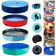 Bañera Piscina Plegable de Mascota Perro Baño Portátil para Animal 80/120/160cm