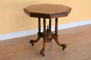 Victorian Walnut Centre Table