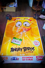 ANGRY BIRDS C 4x6 ft Bus Shelter D/S Movie Poster Original 2016