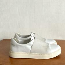 COS Minimal White Elastic Trainers Shoes Size EUR40 UK7 *LOVELY* RRP£90