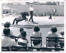 1965 Hapsburg Society Circus Robert Mock Univ Village Seattle WA Press Photo