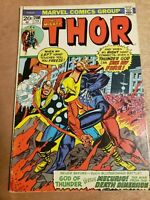 Mighty Thor #208 Mercurio Death Dimension Nice Copy