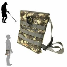 Digger's Pouch Camo Metal Detector Waist for Metal Detecting and Treasure Hun.