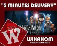 LEGO Lego Harry Potter Years 1-4 PC [Steam CD key] No Disc/Box, Region Free