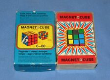 sssssss1981 MAGNET-O-CUBE MAGIC PUZZLE IN ORIGINAL BOX WEST GERMANY RUBIK'S CUBE