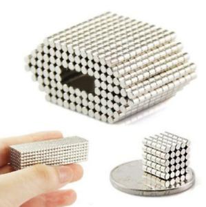500Pcs N50 Strong Neodymium Rare Earth Round Disc Fridge Mini Magnets 2 x 2mm