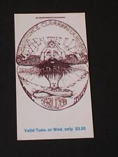 BG127 STEPPENWOLF & CCR Psychedelic FILLMORE TICKET by Lee Conklin