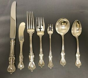 42 Piece Set in Marlborough by Reed & Barton, Sterling Silver