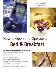 How to Open and Operate a Bed & Breakfast-ExLibrary