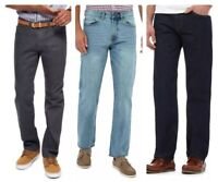 Men`s New DEBENHAMS Straight Leg Jeans Regular Fit in 4 Colours - RRP £30
