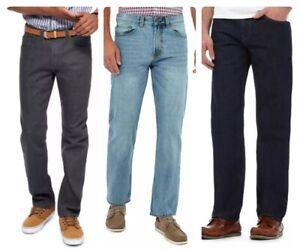 Men`s Debenhams Maine Straight Leg Jeans - NEW - RRP £30