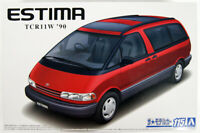 Aoshima 57537 The Model Car 115 Toyota TCR11W Previa Twin Moonroof '90 1/24