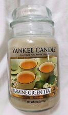 Yankee Candle JASMINE GREEN TEA Classic Large Jar 22 Oz New Housewarmer Food