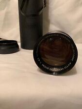 Yashica Yashinon Auto Zoom 75-230mm f/4.5 Lens, Caps M42 Mount V26 With Case