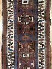 Tremendous Tribal - 1890s Antique Kurdish Rug - Tribal Runner - 3.8 x 14 ft.