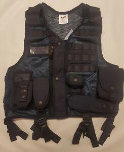 Tactical Vest Arktis Load Bearing Ex Police Obsolete Security Vest (Still15)