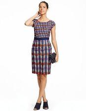 BODEN  BNIB Kensington Dress - Navy/Purple/Orange - UK 18 R