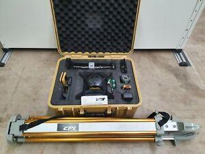 CPI CPI550G Industrial Green Beam Rotary Laser Level Kit