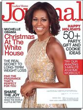 Ladies' Home Journal - 2013, December - Michelle Obama & White House Christmas