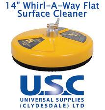 """Superficie plana giratoria se Whirlaway 14"""" Limpiador Agua a Presión de Alimentación patio jetwash"""