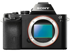 Cámara EVIL - Sony Alpha ILCE 7 ,24.3 mpx, Body, ISO 100 a 25.600, Negro