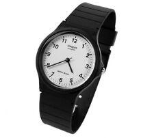 Casio Collection Herrenuhr Armbanduhr Analoguhr Resinband Weiss MQ-24-7BLLGF