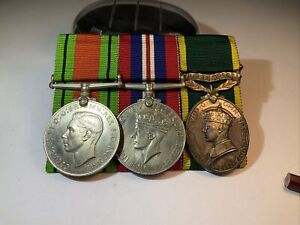 The Defence Medal,1939-45 Medal And Territorial Medal Lovely Set