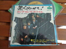 "THE ROLLINGH STONES - ""PAINT IT BLACK"" -  7""  JAPAN - TOP1053 - TRES RARE"