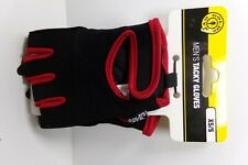 Gold's Gym MEN's Tacky Gloves XS/S Black and RED