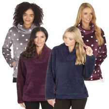 Ladies Snuggle Shawl Cowl Neck Fleece With Front Pocks By Forever Dreaming