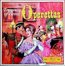 TREASURY OF GREAT OPERETTAS (VARIOUS ARTISTS) 12 LP SET! PREMIUM USED LP (NM/EX)