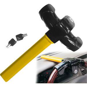 Anti Theft Rotary Universal Heavy Duty Steering Wheel Lock Security Safe Van Car