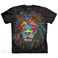 Mane Lion T-Shirt by The Mountain. Big Face Tee Sizes S-5XL NEW