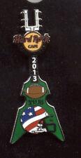 Hard Rock Cafe Four Winds Super Bowl 2013 Helmut Guitar European Series Pin