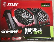 MSI NVIDIA GeForce GTX 1070 Gaming X 8GB Still under warranty