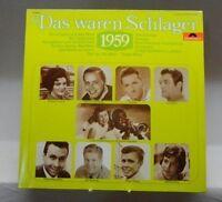Das waren Schlager 1959 Freddy, Connie Francis, Peter Kraus, Bill Ramsey.. [LP]
