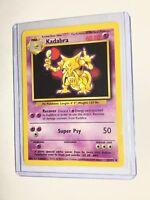KADABRA - Base Set - 32/102 - Uncommon - Pokemon Card - Unlimited Edition - NM