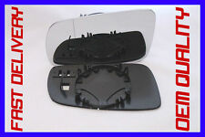 DOOR WING MIRROR GLASS BLIND SPOT DIRECT  LEFT SKODA SUPERB ESTATE 2001 -2006