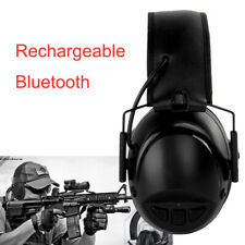 Rechargeabel Bluetooth Noise Cancelling Earmuff Headphones Shooting Protector Us