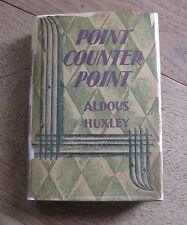 POINT COUNTER POINT by Aldous Huxley - 1st -1928  HCDJ  - Doubleday $2.50