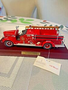 Franklin Mint 1:32 FIRE ENGINE MACK PUMPER 1948 FIRE ENGINE