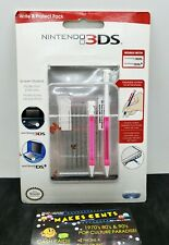 New Nintendo 3DS XL Write & Protect Pack Stylus and Screen Protectors - NEW