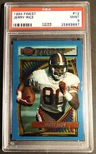 1994 TOPPS FINEST JERRY RICE #12 PSA 9 HOF SAN FRANCISCO FORTY NINERS  (701)
