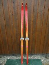 """Old  Wooden 67"""" Long  Skis with Original color finish"""