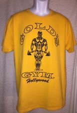 Gold's Gym Hollywood T-Shirt Size Adult Large, pre-owned