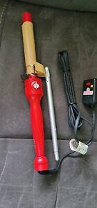 """CHI Turbo 1 """" Ceramic Hair Curling Iron Temperature Control Turbo CHI GF1526"""
