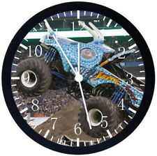 Big Truck Black Frame Wall Clock Nice For Decor or Gifts E211