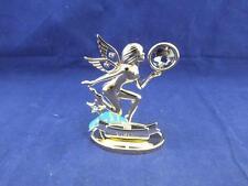Crystocraft Virgo the Virgin Sculpture with Strass Swarovski Crystals.